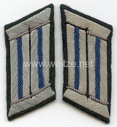 Wehrmacht Heer Paar Kragenspiegel für Offiziere des TSD Truppensonderdienst (Verwaltung)