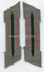 Wehrmacht Heer Paar Kragenspiegel für Mannschaften Panzerjäger
