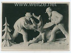 III.Reich Pressefoto, Staatspreise für Feierabendkunst in der Erzgebirgsstadt Schwarzenberg