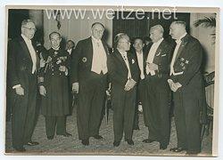 III.Reich Pressefoto, Empfang im Hotel Esplanada in Berlin 13.3.1939