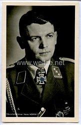 SA - Portraitpostkarte von Ritterkreuzträger Obersturmführer Hans Hoffritz