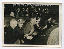 III. Reich Pressefoto. Feierstunde aus Anlaß des 75. Geburtstages des Reichsverwesers des Königreichs Ungarn, Exz. Horthy, in Berlin 18.6.1943