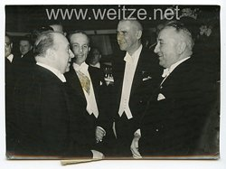 III. Reich Pressefoto. 53687 Der Empfang des Reichspresse-Chefs im Hotel Kaiserhof in Berlin.