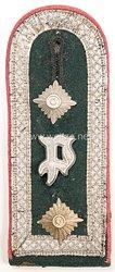 Wehrmacht Schulterklappe Oberfeldwebel Panzerjäger