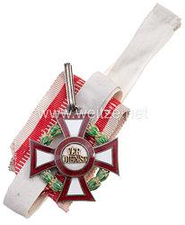 Österreich / K.u.K. Monarchie Militärverdienstkreuz 2. Klasse mit Kriegsdekoration
