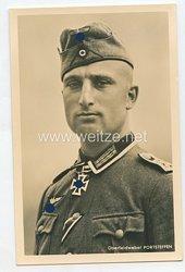 Heer - Portraitpostkarte von Ritterkreuzträger Oberfeldwebel Portsteffen