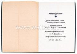Wehrmacht großer Nachlass aus dem Besitz General der Kavallerie Freiherr Kreß von Kressenstein