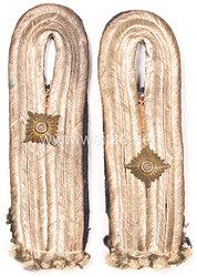 Kriegsmarine Paar Schulterstücke für einen Oberleutnant zur See