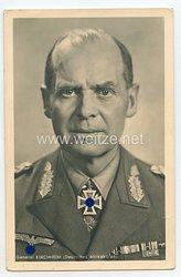 Heer - Portraitpostkarte von Ritterkreuzträger General Kirchheim