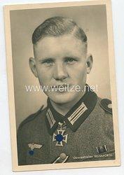 Heer - Portraitpostkarte von Ritterkreuzträger Obergefreiter Hubert Brinkforth