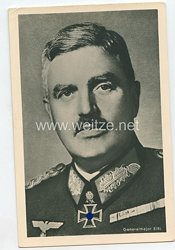 Heer - Portraitpostkarte von Ritterkreuzträger Generalmajor Eibl