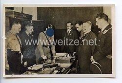 """III. Reich - Propaganda-Postkarte - """" Der Führer bei der Eröffnung des Parteimuseums am 8.11.1933 im Sterneckerbräu München """""""