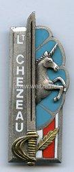 Frankreich Abzeichen Promotion Interarmes Lt. Chezeau (1977)