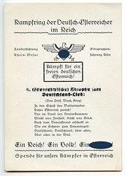 """III. Reich - Propaganda-Postkarte - """" Kampfring der Deutsch-Österreicher im Reich """""""