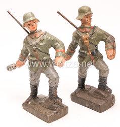 Lineol - Heer 2 Soldaten Handgranate werfend
