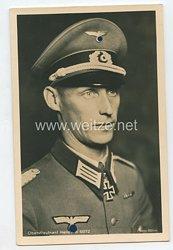 Heer - Portraitpostkarte von Ritterkreuzträger Oberstleutnant Hermann Seitz