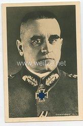 Heer - Portraitpostkarte von Ritterkreuzträger Generaloberst Heitz