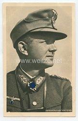 Heer - Portraitpostkarte von Ritterkreuzträger Generalleutnant Kreysing