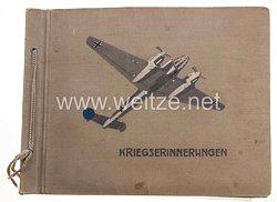 Luftwaffe Fotoalbum - Angehöriger auf einem Feldflugplatz