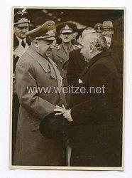 III. Reich Pressefoto. Rumäniens Handelsminister in Berlin. 11.11.41.
