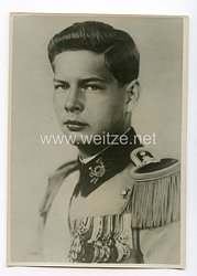 III. Reich Pressefoto. Michael I. zum König ausgerufen. 6. 9. 40.