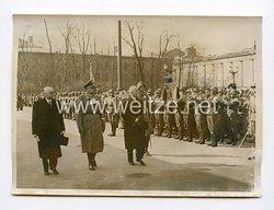 III. Reich Pressefoto. Besuch des ungarischen Außenministers von Bardossy in München.