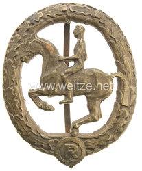 Deutsches Reiterabzeichen Klasse 3 in Bronze
