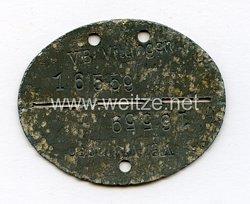 Wehrmacht Erkennungsmarke