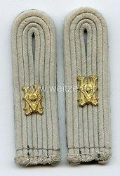 Wehrmacht Heer Paar Schulterstücke für einen Verwaltungssekretär
