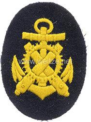 Kaiserliche Marine Ärmelabzeichen für einen Artilleriemechanikersmaat