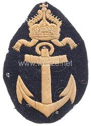 Kaiserliche Marine Ärmelabzeichen für einen Oberschreibersmaaten