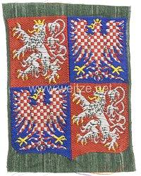 """Protektorat Böhmen und Mähren: Ärmelschild """"Luftschutzpolizei Böhmen-Mähren"""""""