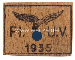Luftwaffe Unterkunftsverwaltung 1935 - Brandstempel Probe