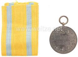 Sachsen Königreich Friedrich-August Medaille in Bronze