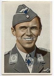 Luftwaffe - Originalunterschrift von Ritterkreuzträger Hauptmann Hans Philipp