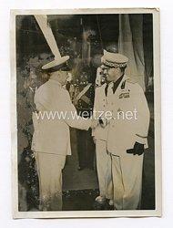 III. Reich Pressefoto. Die Rumänischen Staatsmänner in Rom. 31.07.1940.