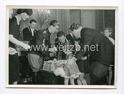 III. Reich Pressefoto. S. M. König Peter der II und Prinzessin Olga. Belgrad 1939.