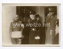 III. Reich Pressefoto. König Peter bei der jugoslawischen Weihnachtsfeiern. 10.01.1940.