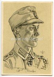Heer - Originalunterschrift von Ritterkreuzträger Oberwachtmeister Johann Schmölzer