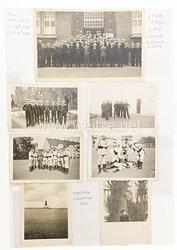 Kriegsmarine Fotogruppe, Vereidigung in Cuxhafen 1936