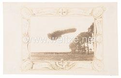 """Deutsches Kaiserreich Fotopostkarte """"Feldluftschiffer Abteilung 30 1914-1915"""""""
