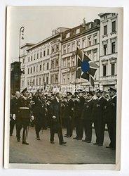 III. Reich Pressefoto. Englische Frontkämpfer in Berlin. 4.8.1938.
