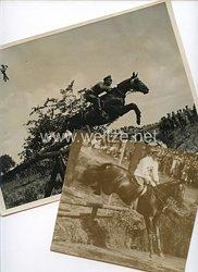 Wehrmacht Pressefoto, Rittmeister Lippert bei der großen Vielseitigkeitsprüfung des Deutschen Olympia-Komitees für Reiterei 15.6.1934