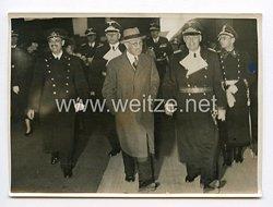 III. Reich Pressefoto. Die ungarischen Minister in Berlin eingetroffen. 29.04.1939.
