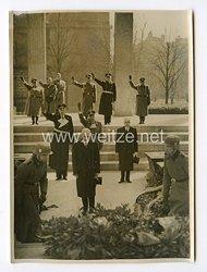 III. Reich Pressefoto. Der Königlich Ungarische Außenminister von Bardossy in München. 21.03.1941.
