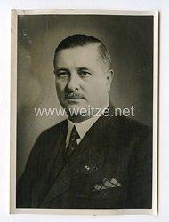 III. Reich Pressefoto. Der Ungarische Minister für Handel und Verkehr Dr. Varga in Berlin. 24.03.1941.