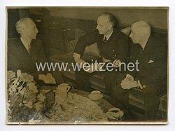 III. Reich Pressefoto. Ungarns Außenminister bei Ribbentrop in München. 23.01.1941.