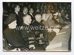 III. Reich Pressefoto. Feierstunde in Berlin am Geburtstag des ungarischen Reichsverwesers. 19.06.1943.