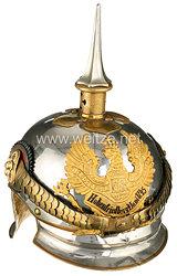 Preußen Helm für einen Offizier im Kürassier-Regiment Königin (Pommersches) Nr. 2