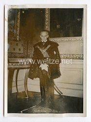 III. Reich Pressefoto. Ungarns Außenminister kommt nach Deutschland. 20.03.1941.